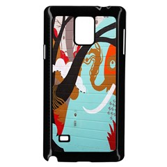 Colorful Graffiti In Amsterdam Samsung Galaxy Note 4 Case (black) by Simbadda