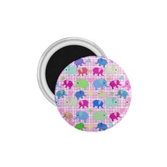 Cute Elephants  1 75  Magnets by Valentinaart