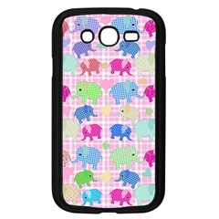 Cute Elephants  Samsung Galaxy Grand Duos I9082 Case (black) by Valentinaart