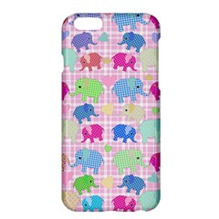 Cute Elephants  Apple Iphone 6 Plus/6s Plus Hardshell Case by Valentinaart
