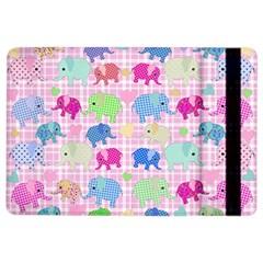Cute Elephants  Ipad Air 2 Flip by Valentinaart