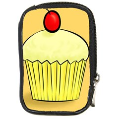 Cake Bread Pie Cerry Compact Camera Cases by Alisyart
