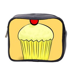 Cake Bread Pie Cerry Mini Toiletries Bag 2 Side by Alisyart