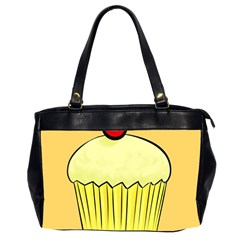 Cake Bread Pie Cerry Office Handbags (2 Sides)  by Alisyart