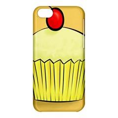 Cake Bread Pie Cerry Apple Iphone 5c Hardshell Case by Alisyart