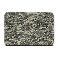 Us Army Digital Camouflage Pattern Small Doormat  by Simbadda