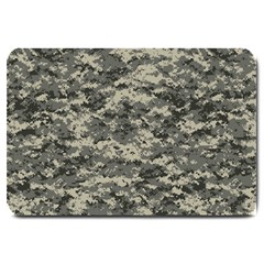 Us Army Digital Camouflage Pattern Large Doormat  by Simbadda
