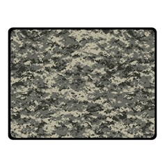Us Army Digital Camouflage Pattern Double Sided Fleece Blanket (small)  by Simbadda