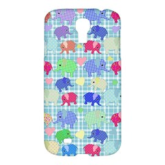 Cute Elephants  Samsung Galaxy S4 I9500/i9505 Hardshell Case by Valentinaart