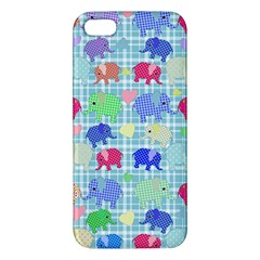 Cute Elephants  Iphone 5s/ Se Premium Hardshell Case by Valentinaart