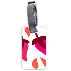 Chili Luggage Tags (two Sides) by Alisyart