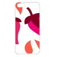 Chili Apple Iphone 5 Seamless Case (white) by Alisyart
