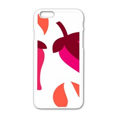 Chili Apple Iphone 6/6s White Enamel Case by Alisyart