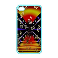 Diamond Manufacture Apple Iphone 4 Case (color) by Simbadda