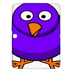 Cartoon Bird Purple Samsung Galaxy Tab 3 (10 1 ) P5200 Hardshell Case  by Alisyart