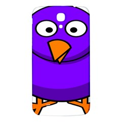 Cartoon Bird Purple Samsung Galaxy Mega I9200 Hardshell Back Case by Alisyart