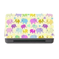 Cute Elephants  Memory Card Reader With Cf by Valentinaart