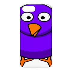 Cartoon Bird Purple Apple Iphone 7 Plus Hardshell Case by Alisyart
