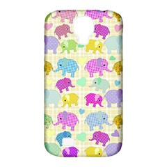Cute Elephants  Samsung Galaxy S4 Classic Hardshell Case (pc+silicone) by Valentinaart