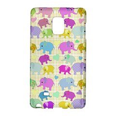 Cute Elephants  Galaxy Note Edge by Valentinaart