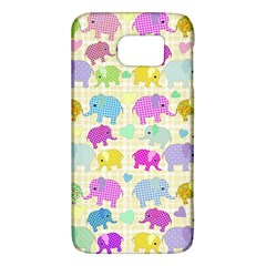 Cute Elephants  Galaxy S6 by Valentinaart
