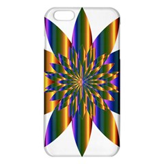 Chromatic Flower Gold Rainbow Star Light Iphone 6 Plus/6s Plus Tpu Case by Alisyart