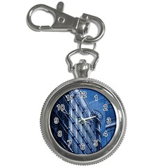 Building Architectural Background Key Chain Watches by Simbadda