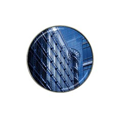 Building Architectural Background Hat Clip Ball Marker (10 Pack) by Simbadda