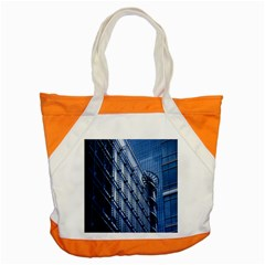 Building Architectural Background Accent Tote Bag by Simbadda