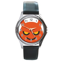 Devil Round Metal Watch by Alisyart