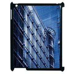 Building Architectural Background Apple Ipad 2 Case (black) by Simbadda