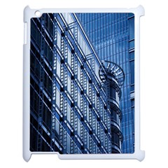 Building Architectural Background Apple Ipad 2 Case (white) by Simbadda