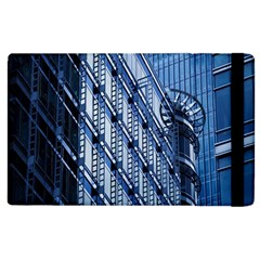 Building Architectural Background Apple Ipad 2 Flip Case by Simbadda