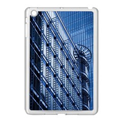 Building Architectural Background Apple Ipad Mini Case (white) by Simbadda
