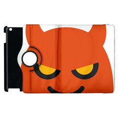 Devil Apple Ipad 2 Flip 360 Case by Alisyart