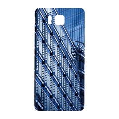 Building Architectural Background Samsung Galaxy Alpha Hardshell Back Case by Simbadda