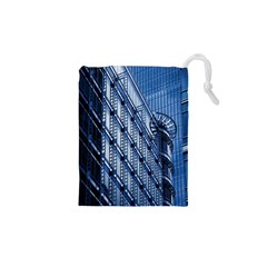 Building Architectural Background Drawstring Pouches (xs)  by Simbadda