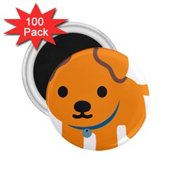 Dog 2 25  Magnets (100 Pack)  by Alisyart