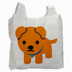 Dog Recycle Bag (two Side)  by Alisyart