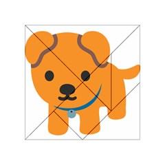Dog Acrylic Tangram Puzzle (4  X 4 ) by Alisyart