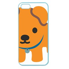 Dog Apple Seamless Iphone 5 Case (color) by Alisyart