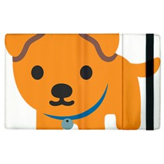 Dog Apple Ipad 3/4 Flip Case by Alisyart