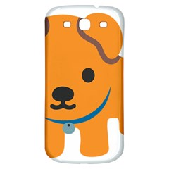 Dog Samsung Galaxy S3 S Iii Classic Hardshell Back Case by Alisyart