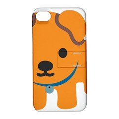 Dog Apple Iphone 4/4s Hardshell Case With Stand by Alisyart