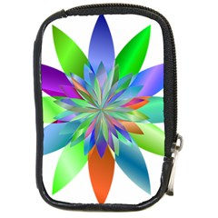 Chromatic Flower Variation Star Rainbow Compact Camera Cases by Alisyart