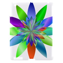 Chromatic Flower Variation Star Rainbow Apple Ipad 3/4 Hardshell Case (compatible With Smart Cover) by Alisyart