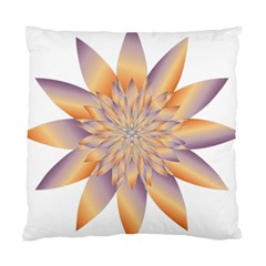 Chromatic Flower Gold Star Floral Standard Cushion Case (two Sides) by Alisyart