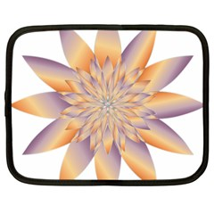 Chromatic Flower Gold Star Floral Netbook Case (xxl)  by Alisyart