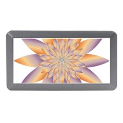 Chromatic Flower Gold Star Floral Memory Card Reader (mini) by Alisyart