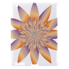 Chromatic Flower Gold Star Floral Apple Ipad 3/4 Hardshell Case (compatible With Smart Cover) by Alisyart